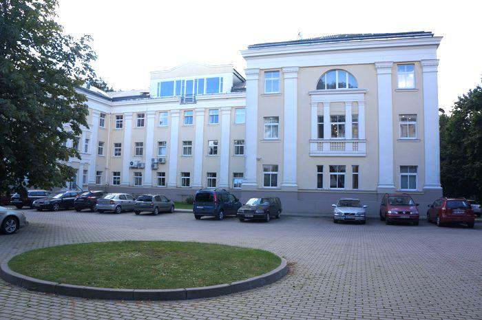 Управление коммерческой недвижимостью - комплекс административных зданий на улице Unijas, Рига.